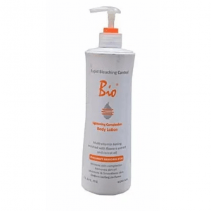 Bio lightening complexion body lotion rapid control