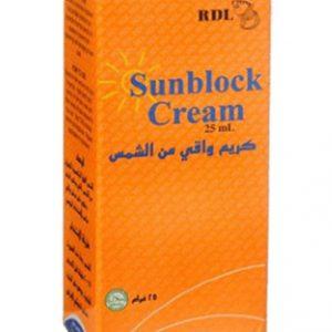 RDL SPF 15 Sunblock Cream