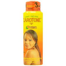 Carotone Light & Natural Brightening Body Lotion 550ml