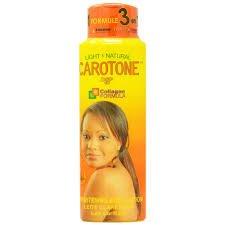 Carotone Light & Natural Brightening Body Lotion 550ml