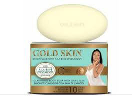 Gold Skin Clarifying Body Soap With Snail Slime