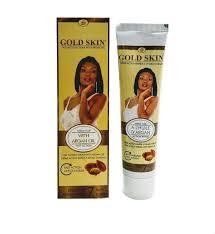 Gold Skin Clarifying Face Cream Tube With Argan Oil