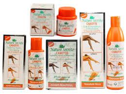 Nature-Secret-Pure-Carrot-Oil-Lightening-Serum-Lotion-Face-Creme-Soap