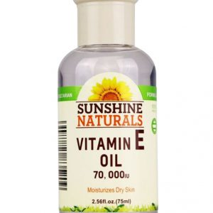Sunshine Naturals Vitamin E Face Oil with 70000 IU