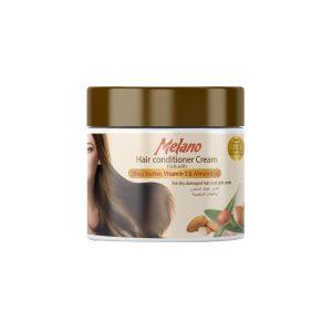 Melano Hair Conditioner Cream Rich with Shea butter, Vitamin E & Almond Oil