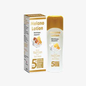 Melano Lotion Milk ,Honey & Almond oil