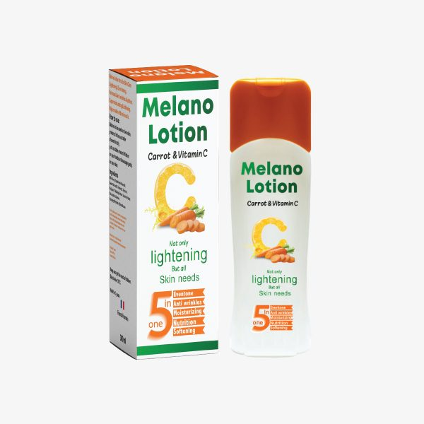 Melano Lotion,Carrot & Vitamin C