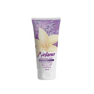 Melano Shower gel with Lavender & Vanilla