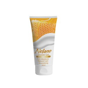 Melano shower gel with milk & honey