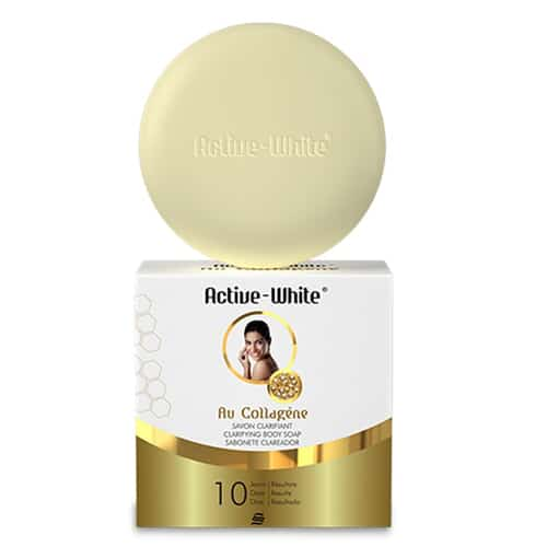 Active White Clarifying Body Soap With Collagen
