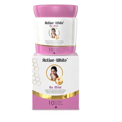 Active White Clarifying Softening Body Cream With Honey