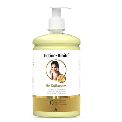Active White ClarifyingShower Gel With Collagen