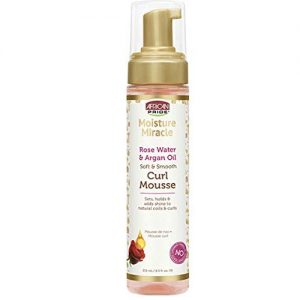 African Pride Moisture Miracle Soft & Smooth Curl Mousse 8.5oz