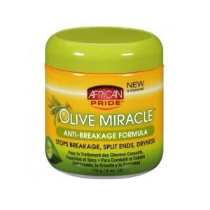 African Pride Olive Miracle Anti-Breakage Formula Hair Creme