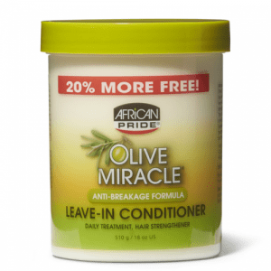 African Pride Olive Miracle Anti-Breakage Formula Leave-In Conditioner