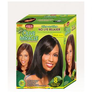 African Pride Olive Miracle Deep Conditioning No Lye Relaxer 8 Touch-Up [Regular]