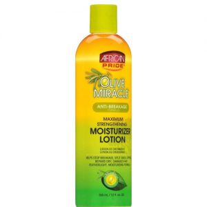 African Pride Olive Miracle Moisturizer Lotion, 8oz (355ml)