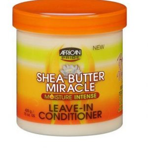 African Pride Shea Butter Miracle Leave-in Conditioner, 15 oz (425g)