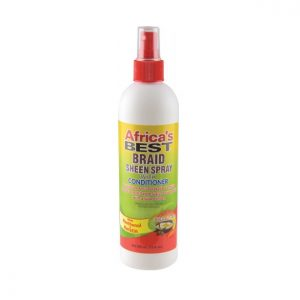 Africa's Best Braid Sheen Spray With Conditioner, 12 oz (355ml)