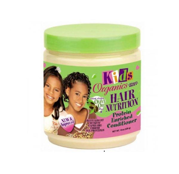 Africa's Best Kids Organics Hair Nutrition Protein Enriched Conditioner, 15oz (426g)