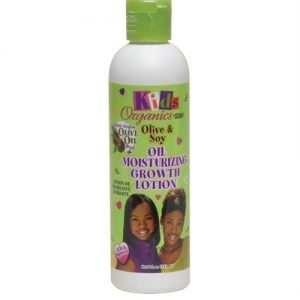 Africa's Best Kids Organics Olive & Soy Oil Moisturizing Growth Lotion, 8oz (237ml)