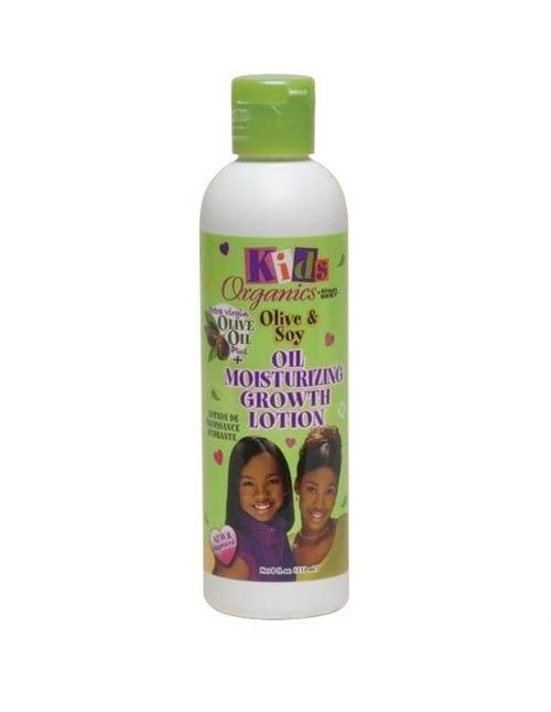 Africa's Best Kids Organics Olive & Soy Oil Moisturizing Growth Lotion, 8oz (237ml)