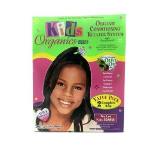 Africa's Best Kids Organics Organic Conditioning Relaxer System No-Lye Value Pack [Coarse]