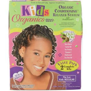 Africa's Best Kids Organics Organic Conditioning Relaxer System No-Lye Value Pack [Regular]