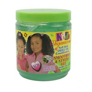 Africa's Best Kids Organics Soft Hold Olive Oil Conditioning Smoothing & Styling Gel, 15oz