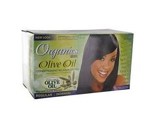 Africa's Best Organics Olive Oil Conditioning Relaxer System No-Lye [Regular]