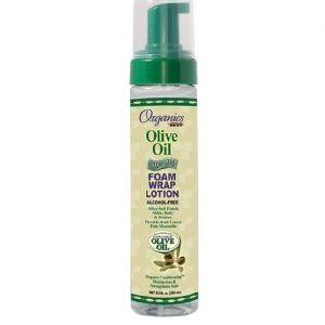 Africa's Best Organics Olive Oil Foam Wrap Lotion, 8.5oz