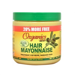 Africa's Best Organics Olive Oil Hair Mayonnaise
