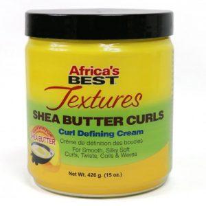 Africa's Best Textures Shea Butter Curls Curl Defining Cream