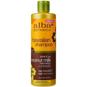 Alba Botanica Hawaiian Coconut Milk Shampoo, 12oz