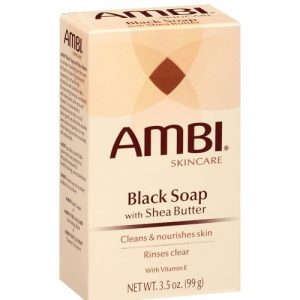 Ambi Skin Care Black Soap with Shea Butter 3.5oz