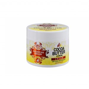 American Dream Cocoa Butter Lemon Brightening Cream (500ml)