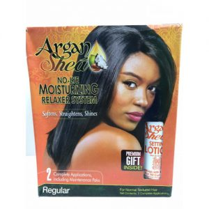 Argan Shea No-Lye Moisturizing Relaxer System [Regular]
