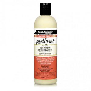 Aunt Jackie's Curls & Coils Curl Purify Me, Moisturizing Co-Wash Cleanser, 12oz (355ml)