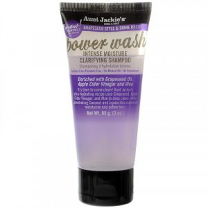 Aunt Jackie's Curls & Coils Power Wash Intense Moisture Clarifying Shampoo 85g