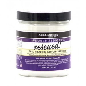 Aunt Jackie's Curls & Coils Rescued!, Thirst Quenching Recovery Conditioner, 15oz (426g)