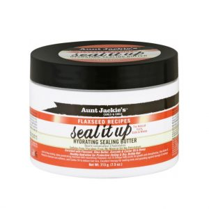 Aunt Jackie's Curls & Coils Seal It Up, Hydrating Sealing Butter, 7.5oz (213g)