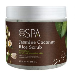 BCL SPA Jasmine Coconut Rice Scrub, 16oz
