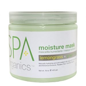 BCL SPA Lemongrass + Green Tea Moisture Mask, 16oz