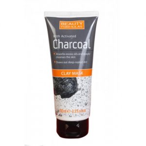 Beauty Formulas With Active Charcoal Clay Mask, 3.3oz (100ml)