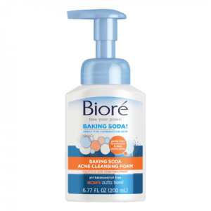Biore Baking Soda Acne Cleansing Foam, 6.77oz