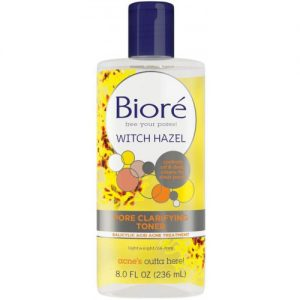 Biore Witch Hazel Pore Clarifying Toner, 8oz