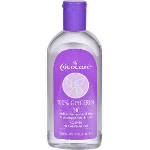Cococare 100% Glycerin For Hair & Skin, 8.5oz
