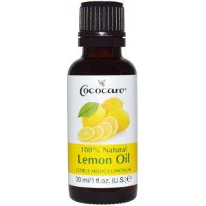 Cococare 100% Lemon Natural Oil, 1oz