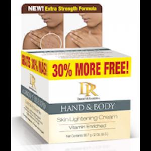 Daggett & Ramsdell Hand & Body Skin Lightening Cream Vitamin Enriched 2 Oz