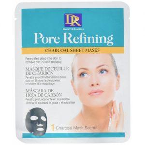 Daggett & Ramsdell Pore Refining Charcoal Sheet Mask, 1 Sachets Mask